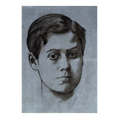 "EDGAR DEGAS ""Portrait Of A Young Man"" print ON CANVAS various SIZES, BRAND NEW"