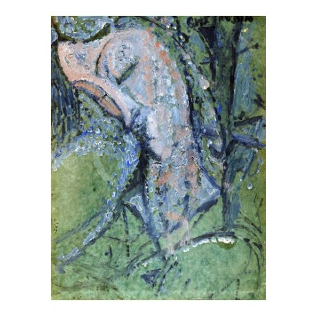 "AMEDEO MODIGLIANI ""Cherubin"" print ON CANVAS new choose SIZE, from 55cm up, NEW"