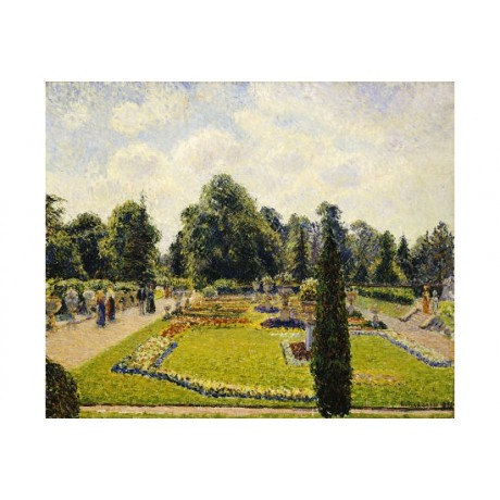 "CAMILLE PISSARRO ""Kew Gardens"" PRINT new CANVAS choose SIZE, from 55cm up, NEW"