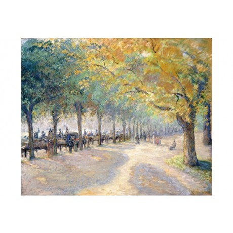 "CAMILLE PISSARRO ""Hyde Park, London"" ON CANVAS choose SIZE, from 55cm up, NEW"