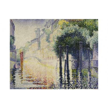 "HENRI EDMOND CROSS ""Rio San Trovaso, Venice"" CANVAS ART various SIZES, BRAND NEW"