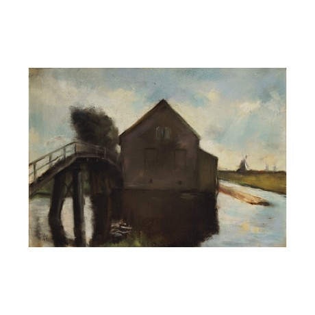 "LESSER URY ""Mill"" print NEW ON CANVAS, see our shop! various SIZES available"