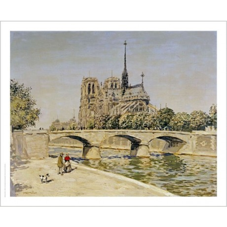 "JEAN FRANCOIS RAFFAELLI ""Notre Dame"" CANVAS ART choose SIZE, from 55cm up, NEW"
