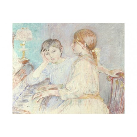 "BERTHE MORISOT ""Le Piano"" Music Art Print various SIZES available"