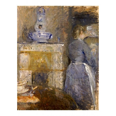 BERTHE MORISOT Dining Room print NEW ON CANVAS choose SIZE, from 55cm up, NEW