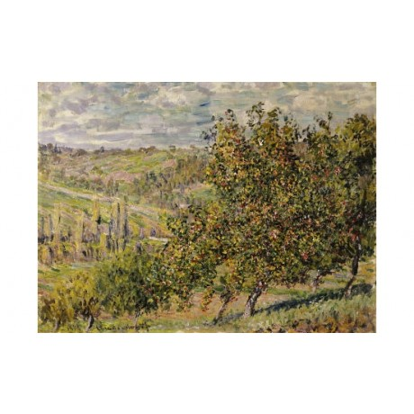 "CLAUDE MONET ""Apple Blossom"" landscape print NEW choose SIZE, from 55cm up, NEW"