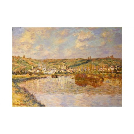 "CLAUDE MONET ""End Of Afternoon, Vetheuil"" PRINT NEW various SIZES available, NEW"