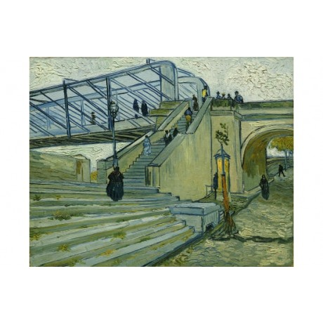 "VINCENT VAN GOGH ""Le Pont De Trinquetaille"" PRINT new various SIZES, BRAND NEW"