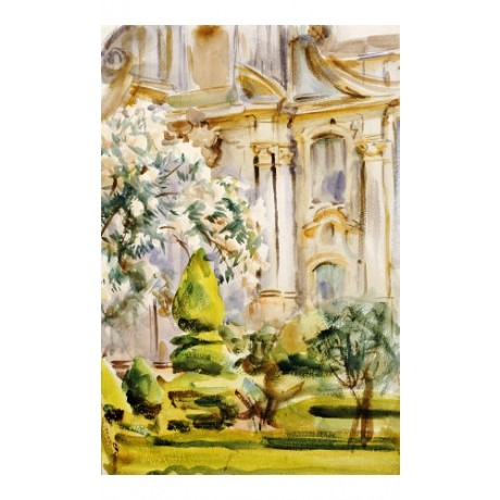 """JOHN SINGER SARGENT """"Palace And Gardens, Spain"""" Print various SIZES, BRAND NEW"""