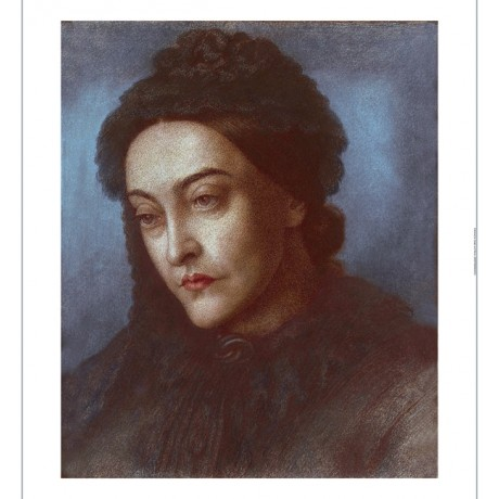 "DANTE GABRIEL ROSSETTI ""Portrait Of Christina Rossetti"" various SIZES, BRAND NEW"