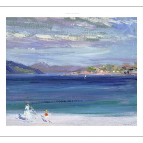 "FRANCIS CAMPBELL CADELL ""Tale Of Mull From Iona"" CANVAS various SIZES, BRAND NEW"