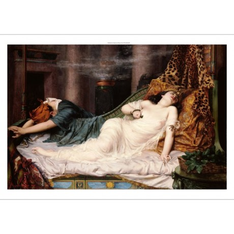 "REGINALD ARTHUR ""Death Of Cleopatra"" Nude woman Print various SIZES, BRAND NEW"