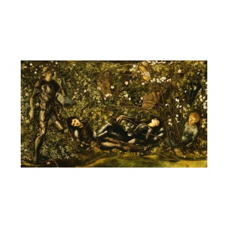 SIR EDWARD COLEY BURNE-JONES Prince Entering Wood PRINT various SIZES, BRAND NEW