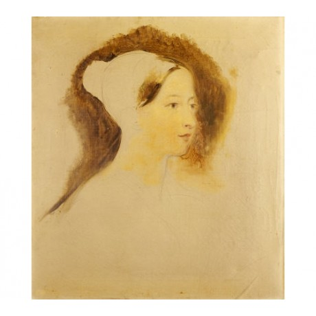 "SIR DAVID WILKIE ""Portrait Of Queen Victoria"" CANVAS various SIZES available"
