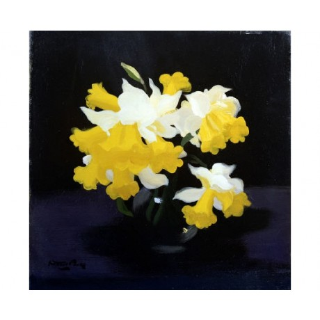 "JAMES STUART PARK ""Daffodils"" Art Print choose your SIZE, from 55cm up"