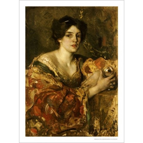 "EDWARD ARTHUR WALTON ""Fortune Teller"" Woman PRINT NEW various SIZES, BRAND NEW"