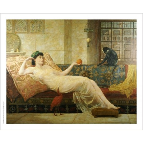 FREDERICK GOODALL Dream Paradise portrait ON CANVAS various SIZES available, NEW