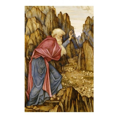 JOHN RODDAM SPENCER STANHOPE Vision Of Ezekiel PRINT various SIZES available