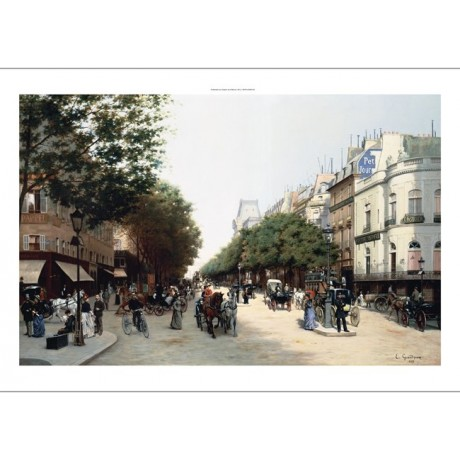 EDMOND GEORGES GRANDJEAN Paris Landscape PRINT NEW choose SIZE, from 55cm up