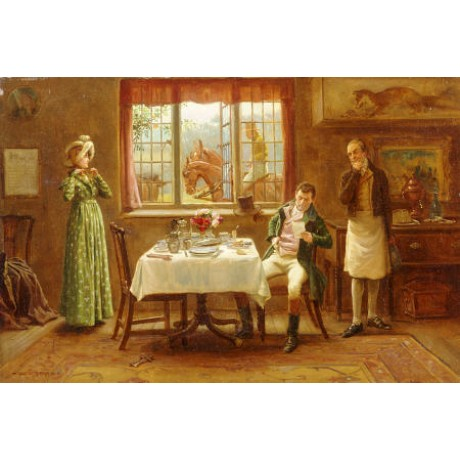 "GEORGE GOODWIN KILBURNE ""Depure"" print NEW choose SIZE, from 55cm upwards, NEW"