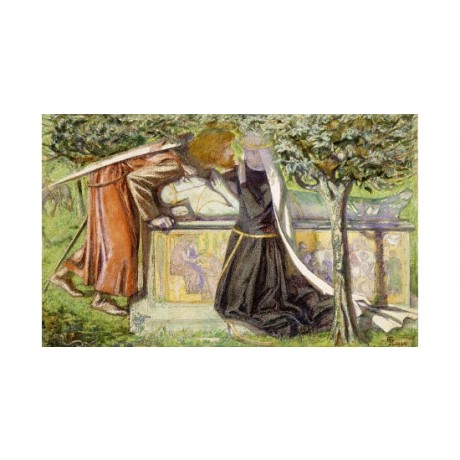DANTE GABRIEL ROSSETTI Sir Launcelot PRINT GICLEE choose SIZE, from 55cm up, NEW
