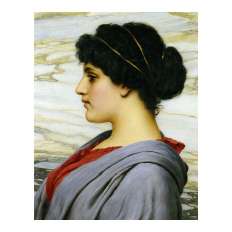 "JOHN WILLIAM GODWARD ""Perilla"" Portrait Beauty PRINT various SIZES available"