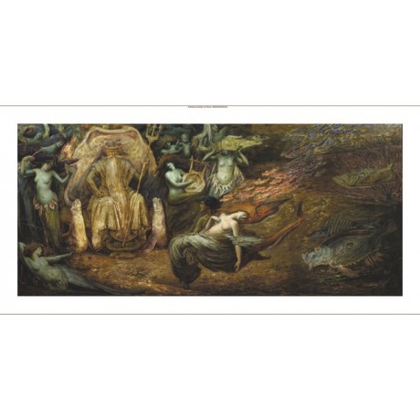 "HENRI-JULES-CHARLES DE GROUX ""Neptune"" new CANVAS print various SIZES, BRAND NEW"
