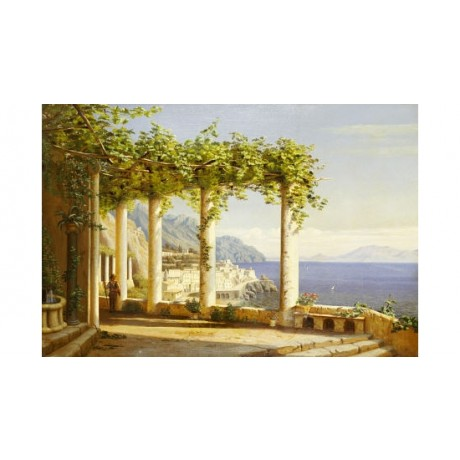 EILER RASMUSSEN EILERSEN Italy Landscape PRINT new choose SIZE, from 55cm up