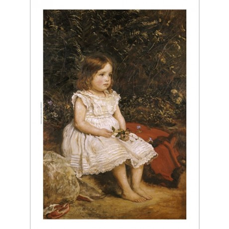 SIR JOHN EVERETT MILLAIS Portrait Child CANVAS PRINT ! various SIZES, BRAND NEW