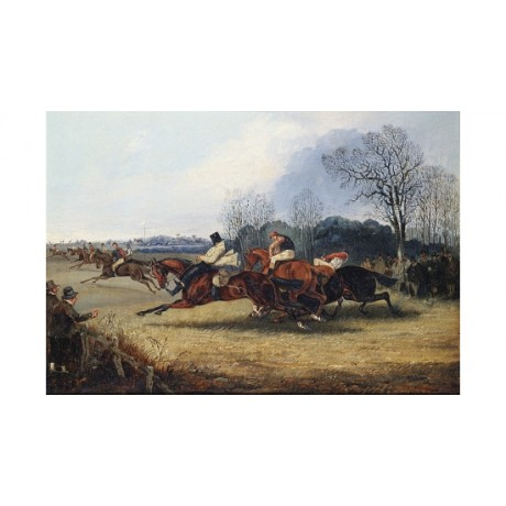 """HENRY ALKEN """"An Incident In The Wakefield Steeplechase"""" various SIZES, BRAND NEW"""