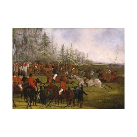 "HENRY ALKEN ""Leicestershire Steeplechase Winning Post"" various SIZES, BRAND NEW"