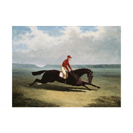 "JOHN FREDERICK HERRING ""The Baron At Newmarket"" CANVAS various SIZES, BRAND NEW"