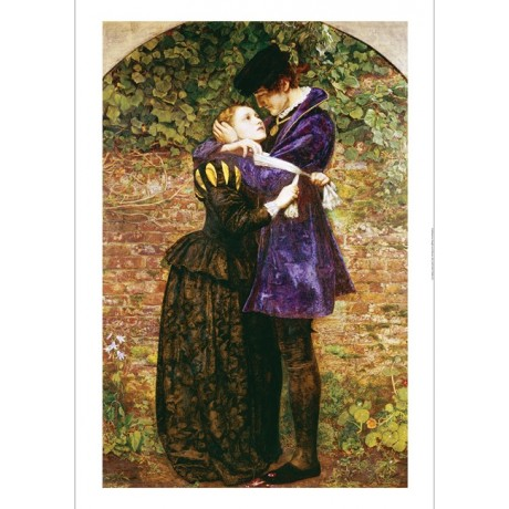 "SIR JOHN EVERETT MILLAIS ""Huguenot"" CANVAS ART ! choose SIZE, from 55cm up, NEW"