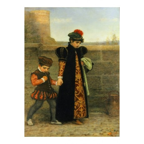 "SIR JOHN EVERETT MILLAIS ""Saint Theresa"" PRINT new choose SIZE, from 55cm up"