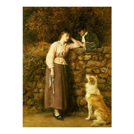 "SIR JOHN EVERETT MILLAIS ""Effie Deans"" ON CANVAS choose SIZE, from 55cm up, NEW"