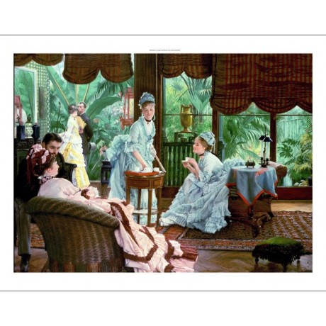 "JAMES JACQUES JOSEPH TISSOT ""Rivals"" CANVAS PRINT ! various SIZES available, NEW"