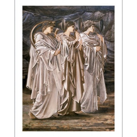 SIR EDWARD COLEY BURNE-JONES music people PRINT choose SIZE, from 55cm up, NEW