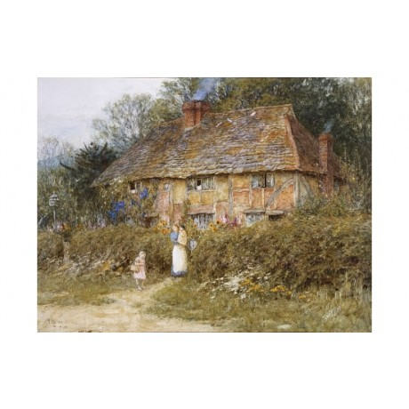 "HELEN ALLINGHAM ""Old Surrey Cottage II"" BROWSE our shop various SIZES, BRAND NEW"