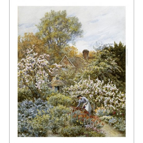 "HELEN ALLINGHAM ""A Garden In Spring"" BROWSE our shop! various SIZES, BRAND NEW"