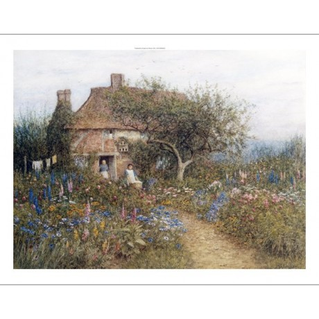 "HELEN ALLINGHAM ""A Cottage Near Brook, Witley Surrey"" various SIZES, BRAND NEW"