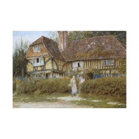 "HELEN ALLINGHAM ""A Kentish Cottage"" BROWSE our SHOP! various SIZES available"