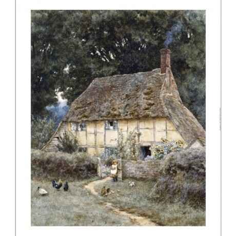 "HELEN ALLINGHAM ""On The Brook Road, Near Witley"" CANVAS various SIZES, BRAND NEW"