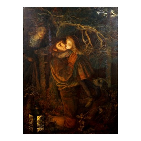 "HUR HUGHES ""Lost Child"" print NEW GICLEE canvas choose SIZE, from 55cm up, NEW"