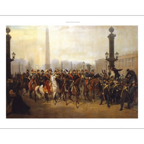VICTOR PHILIPPE AUGUSTE DE JONCQUIERES military PRINT various SIZES, BRAND NEW