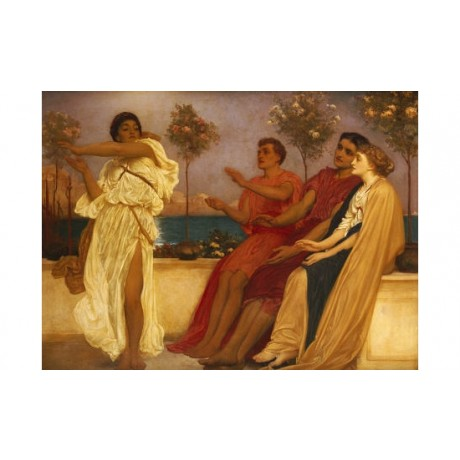 "FREDERIC, LORD LEIGHTON ""Greek Girl Dancing"" PRINT NEW various SIZES, BRAND NEW"