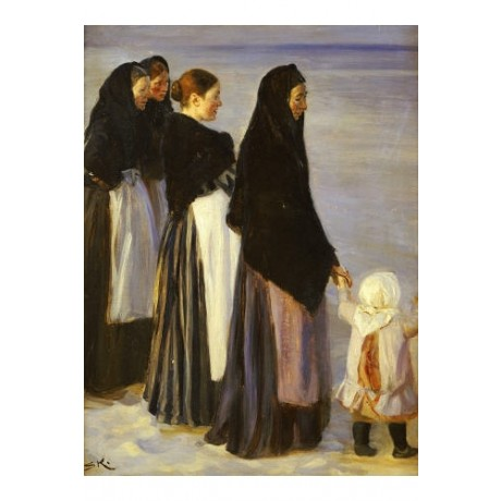 "PEDER SEVERIN KROYER ""Depure Of Fishing Fleet"" print various SIZES available"