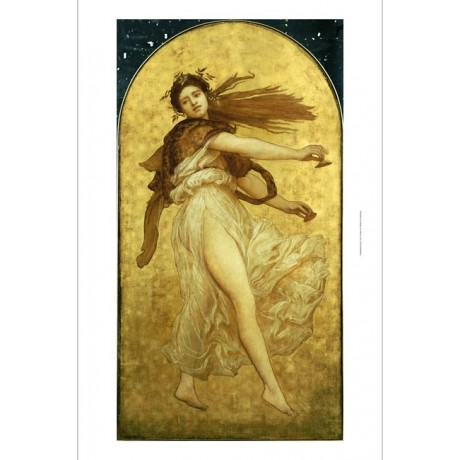 "FREDERIC, LORD LEIGHTON ""Dance Cymbalists II"" ON CANVAS various SIZES, BRAND NEW"