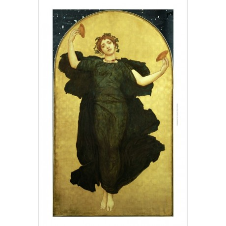 "FREDERIC, LORD LEIGHTON ""Dance Cymbalists I"" ON CANVAS various SIZES, BRAND NEW"