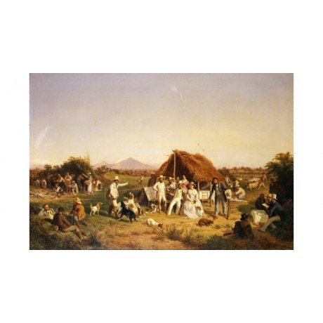 FILIPPO PALIZZI Hunting Party PRINT ON CANVAS choose your SIZE, 55cm to X LARGE