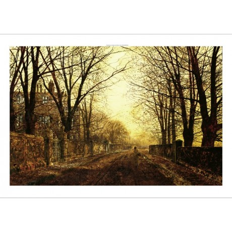 "JOHN ATKINSON GRIMSHAW ""Nocturne in Gold"" new CANVAS! various SIZES, BRAND NEW"